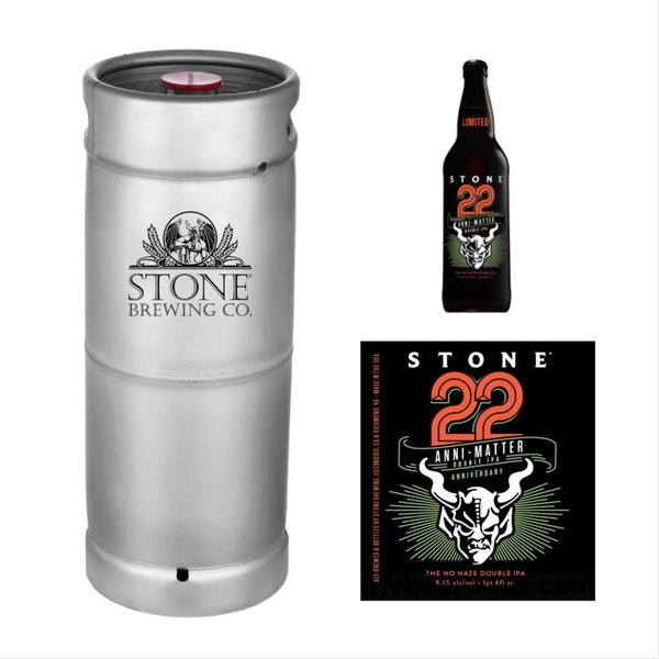 Stone Brewing Co. Stone Anni-Matter Double IPA (5.5 GAL KEG)