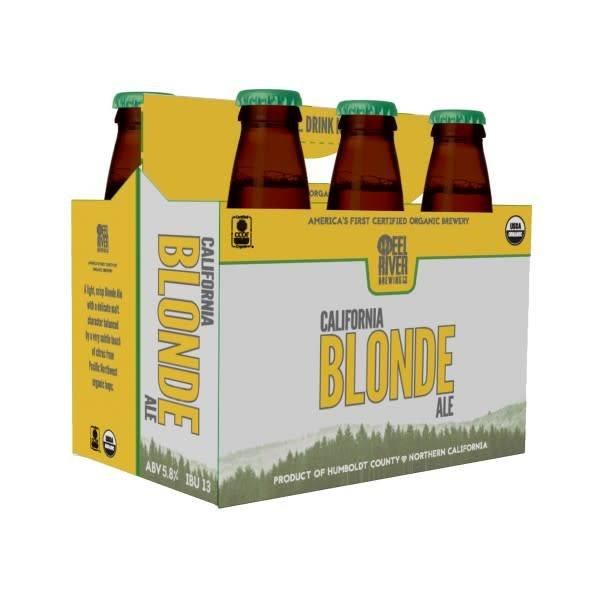 Eel River Brewing Eel River California Blonde Ale (12OZ/6PK BTL)