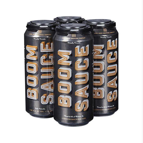 Lord Hobo Brewing Co. Boom Sauce New England IPA (4pkc/16oz))
