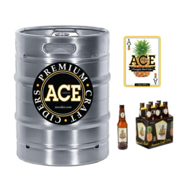 Ace Pineapple Cider (15.5 GAL KEG)