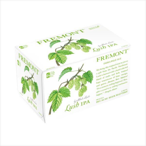 Fremont Brewing Fremont Brewing Lush IPA (12OZ/6PK CAN)