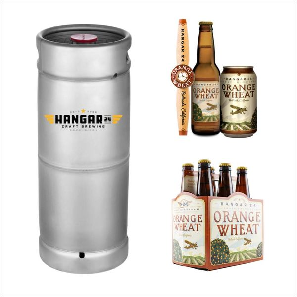 Hanger 24 Craft Brewery Hangar 24 Orange Wheat (5.5 GAL KEG)