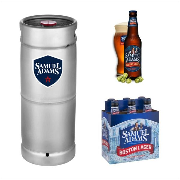 Samuel Adams Samuel Adams Boston Lager (5.5 GAL KEG)