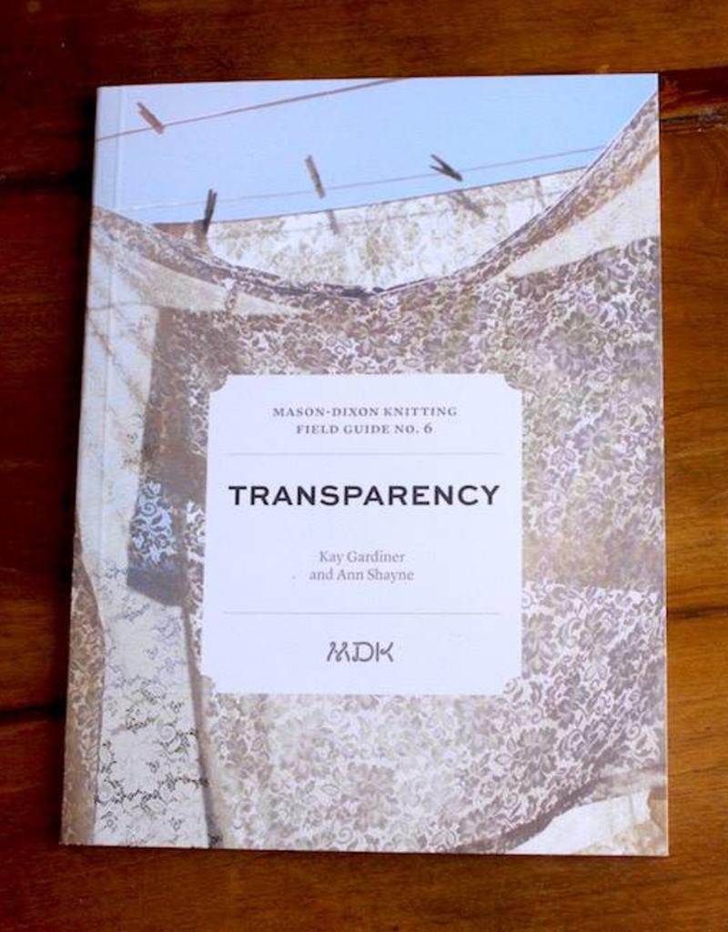 Mason-Dixon Knitting Field Guide No. 6 Transparency