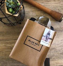 Blue Sky Fibers Silver Bay Scarf Kit