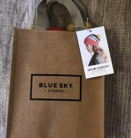 Blue Sky Fibers Skyline Slouch Hat Kit