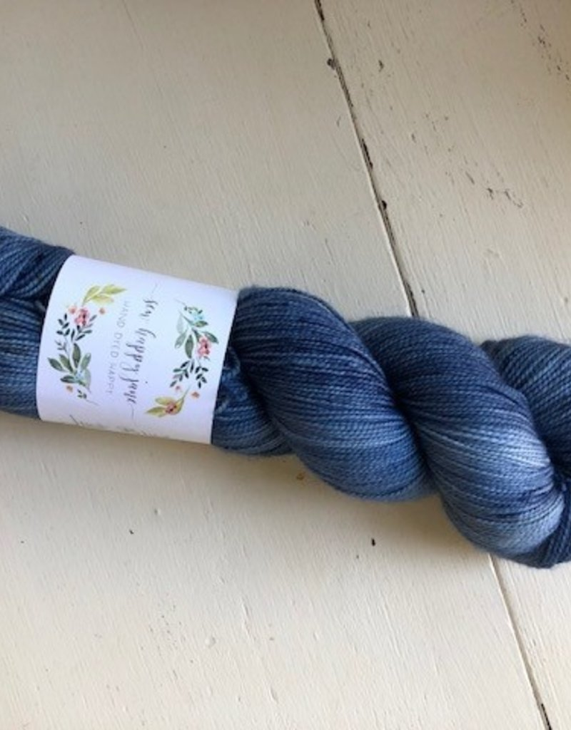 Sew Happy Jane Bouncy Fingering Just Blue