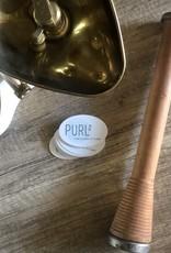 "purl2 Logo Sticker (2x3"")"