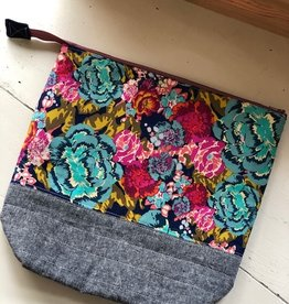 Joy In The Stitches XL Floral Project Bag