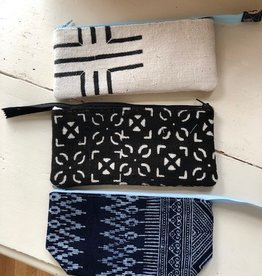 Joy In The Stitches Mudcloth Pencil Pouch