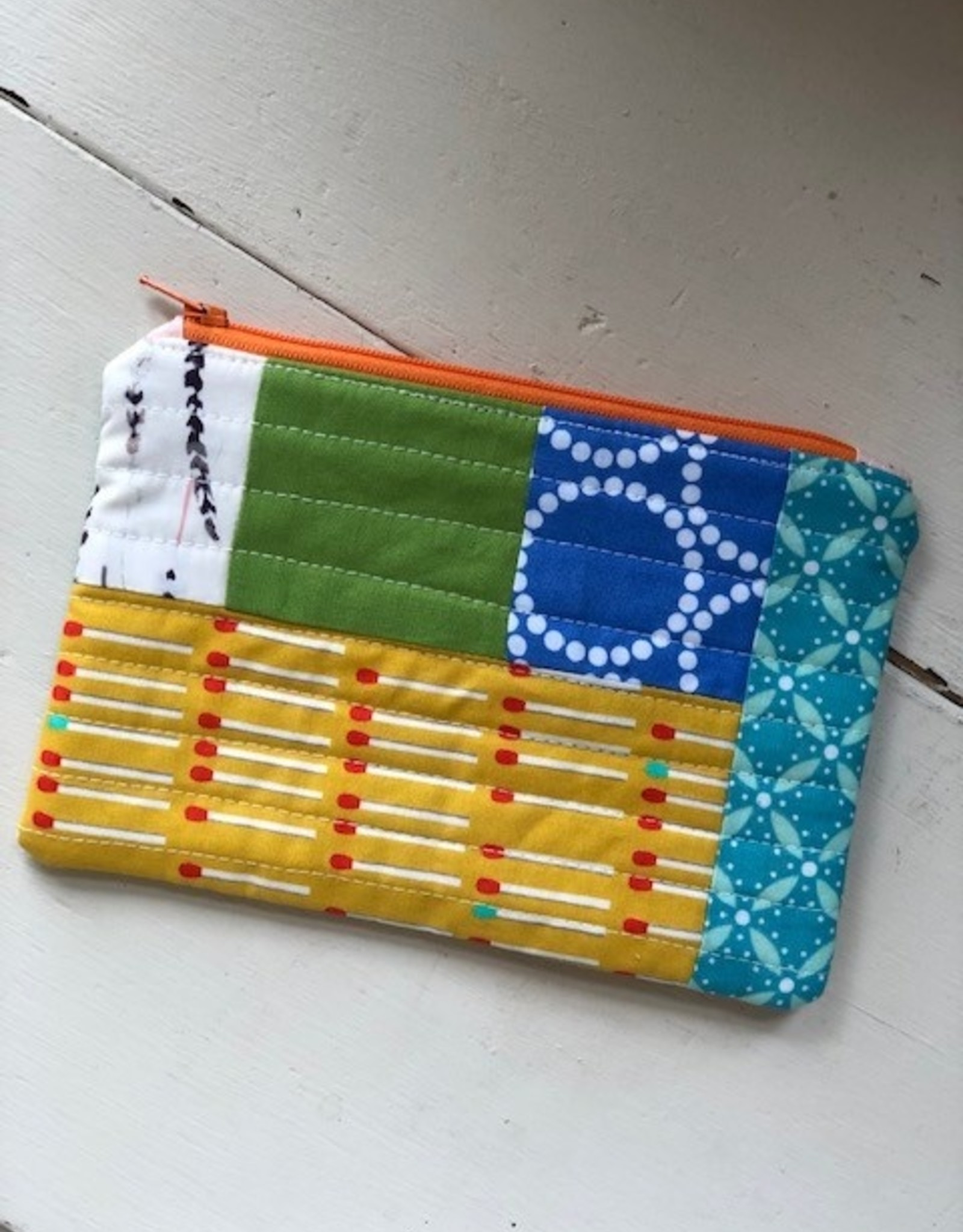 Joy In The Stitches Quilted Notions Pouch
