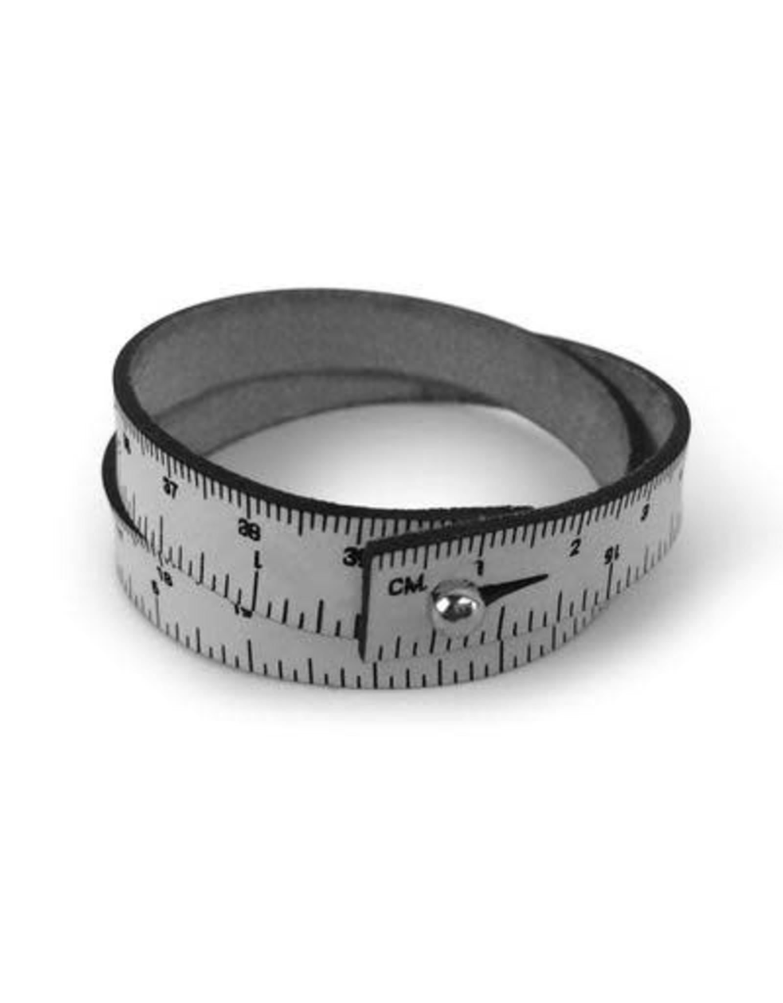 "Wrist Ruler 16"" Grey"