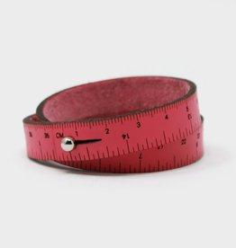 "Wrist Ruler 16"" Hot Pink"