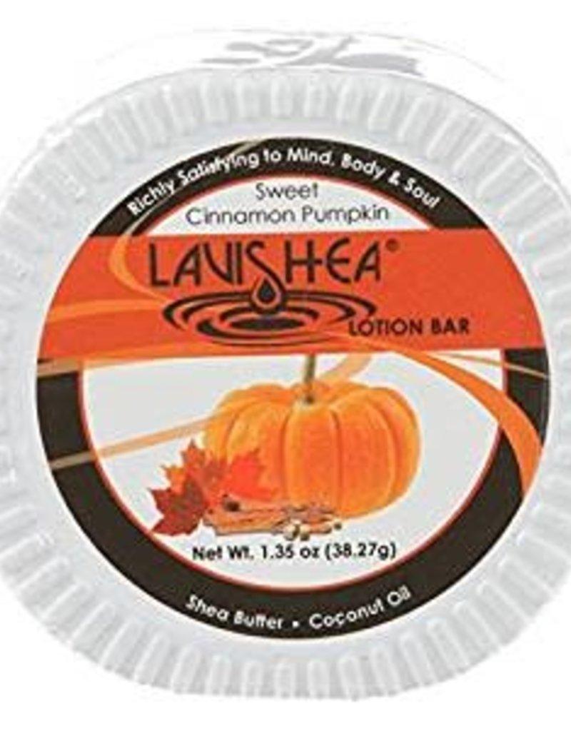 LaviShea Lotion Bar Sweet Cinnamon Pumpkin