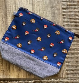 Zipper Bag: Harry Potter Wizards