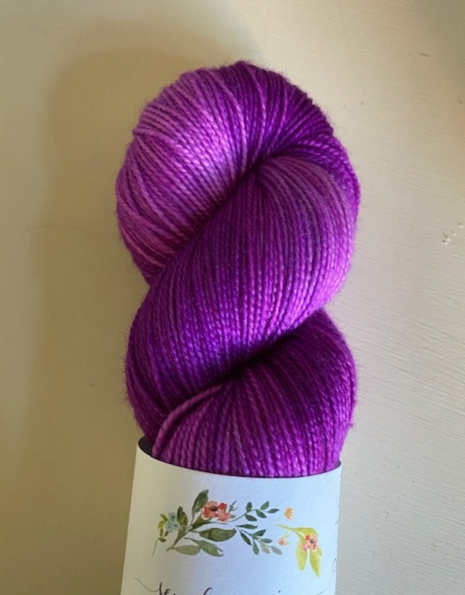 Sew Happy Jane Bouncy Fingering Electric Raspberry