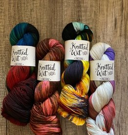 Knitted Wit May NP Collection Yarns (4 Skeins)