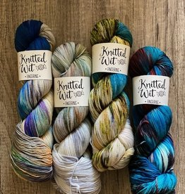 Knitted Wit June NP Collection Yarns (4 skeins)