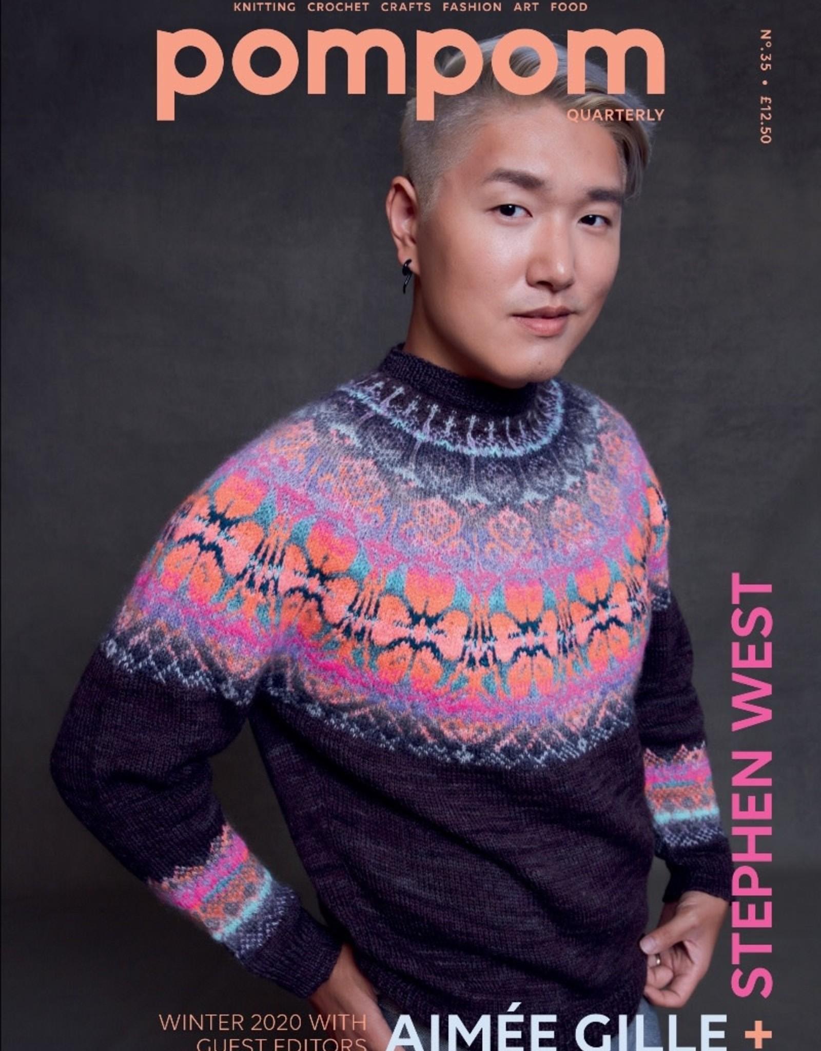 Pom Pom Magazine Pom Pom Issue No. 35 Winter 2020 (Preorder)