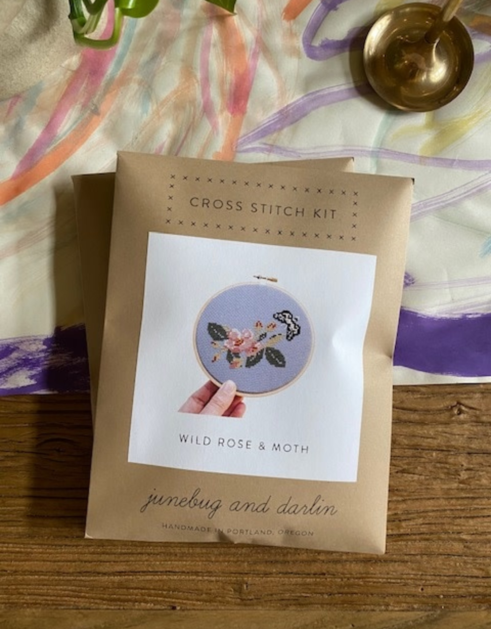 Junebug and Darlin Wild Rose and Moth Kit