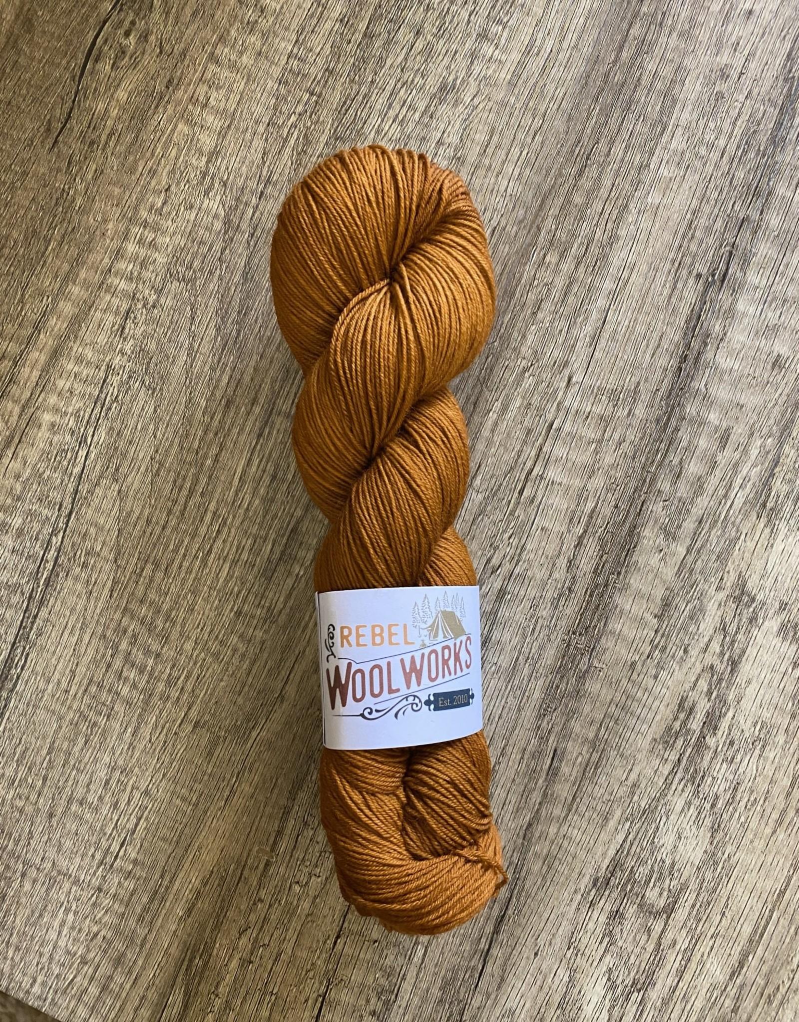 Rebel Woolworks Rebel Sock Caramel