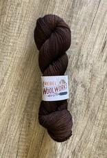 Rebel Woolworks Rebel Sock Chocolate