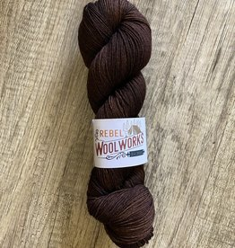 Rebel Woolworks Rebel Sock Chocolate