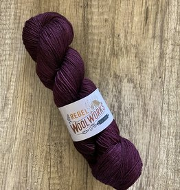 Rebel Woolworks Rebel Sock Chocolate Plum