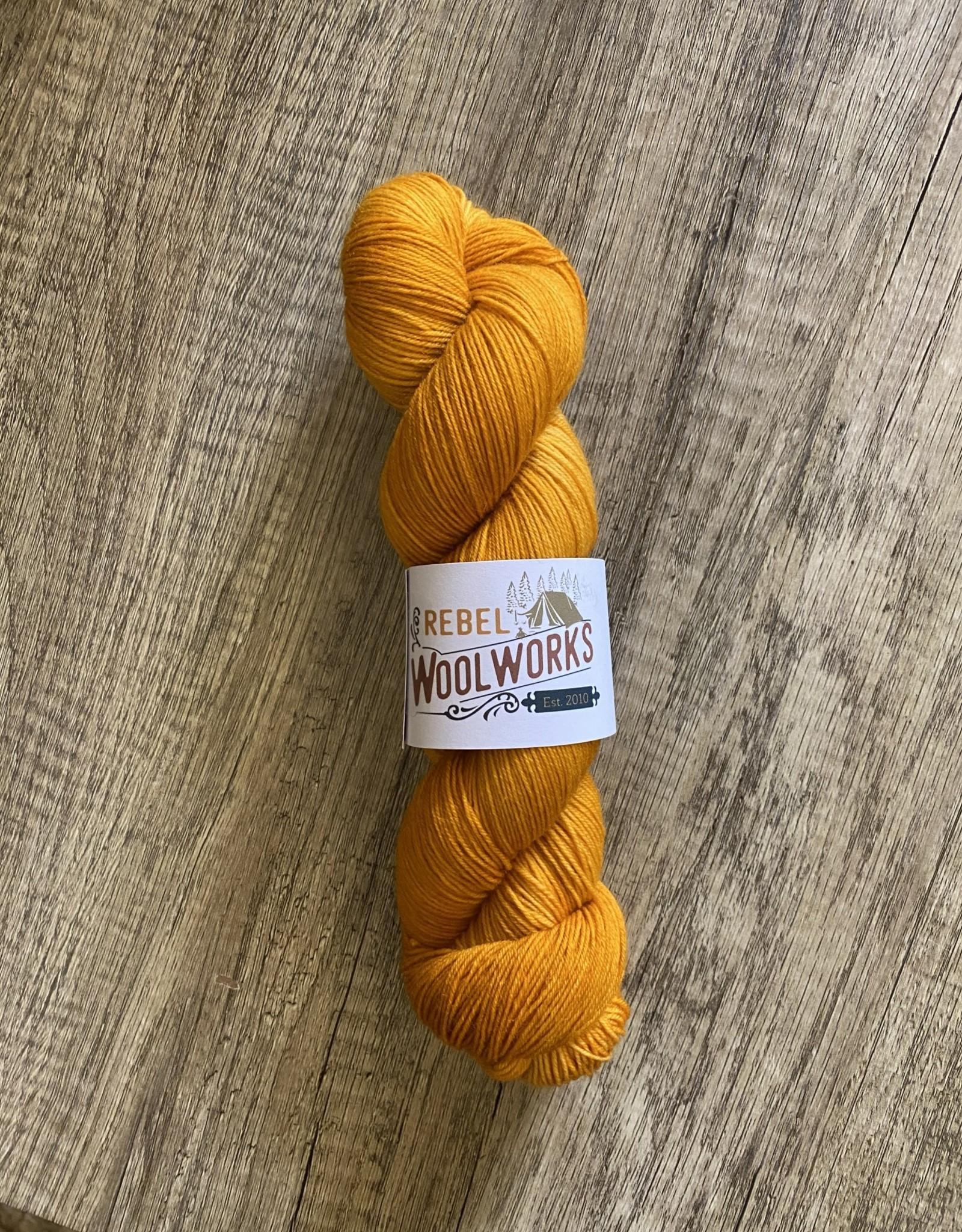 Rebel Woolworks Rebel Sock Mustard
