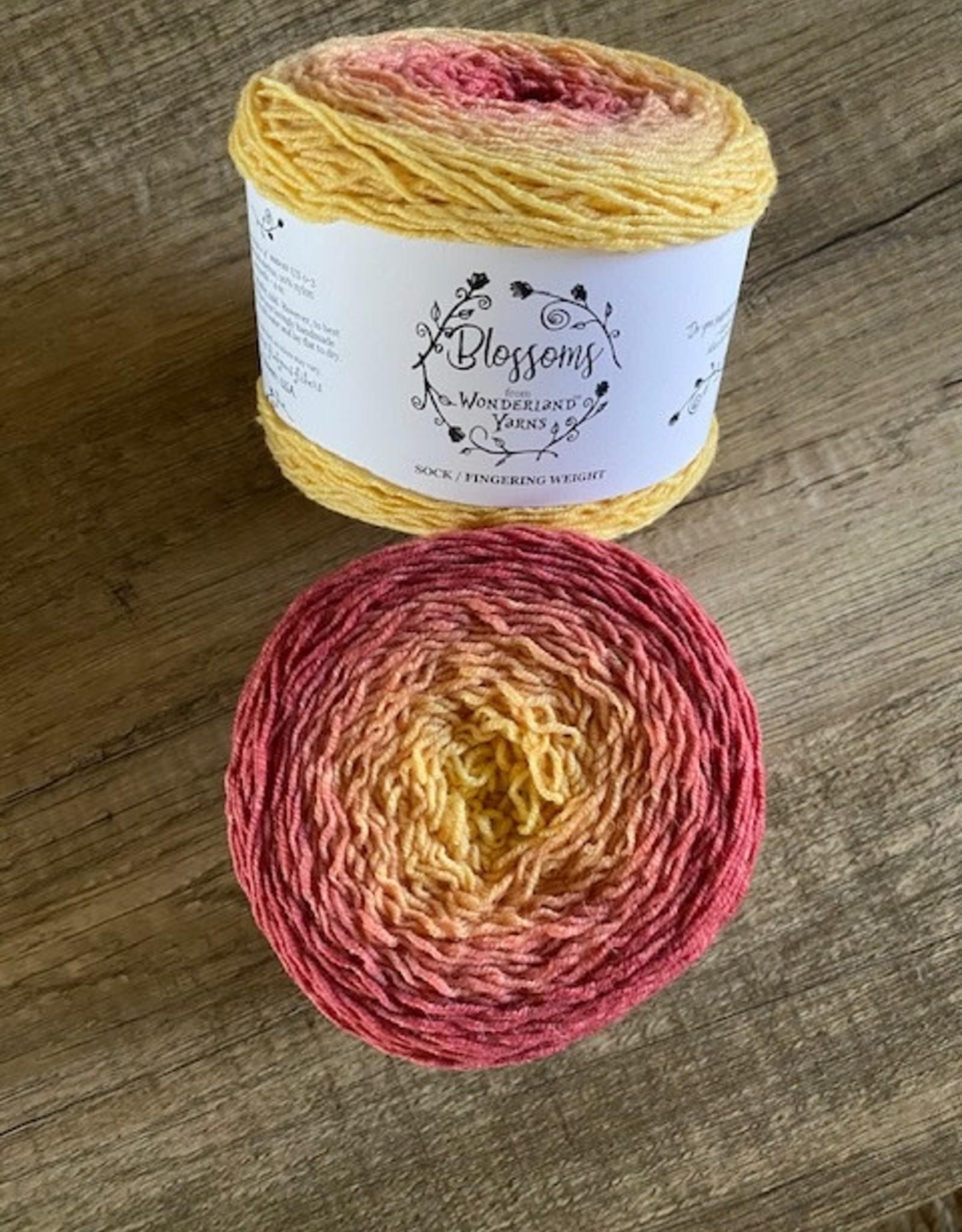 Frabjous Fibers Blossoms No.30 Lantana