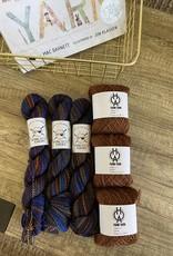 Old Homestead Alpacas Assookinakii/Star Rise Cowl Kit 7