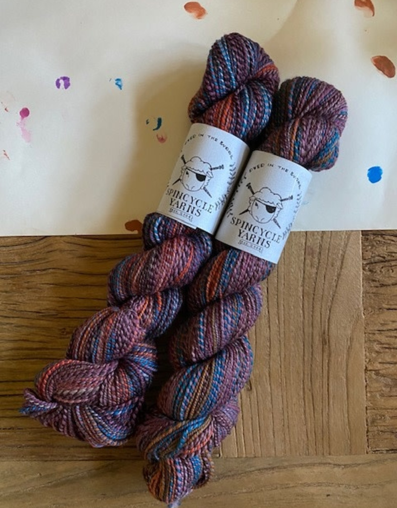 Spincycle Yarns Dyed in the Wool Wololo