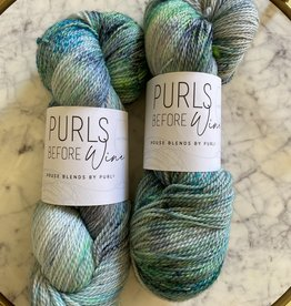 Purls Before Wine Classico Sea Glass is Always Greener