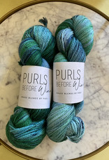 Purls Before Wine Classico Nerves of Teal