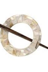 Mosaic Shawl Pin