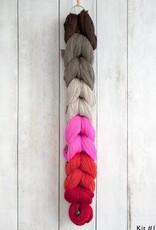 Manos del Uruguay Silk Blend Mentolat Scarf Kit