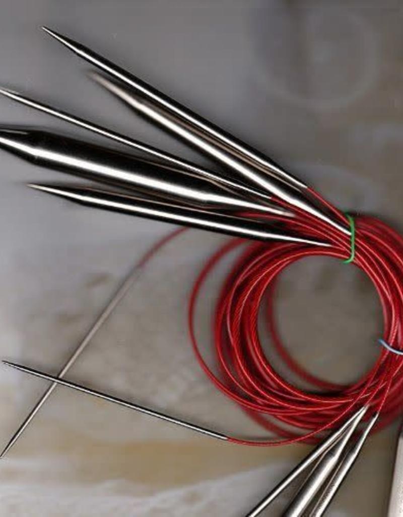 """ChiaoGoo Red Lace Circular 10 24"""""""