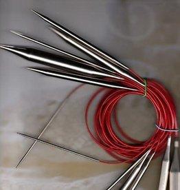 """ChiaoGoo Red Lace Circular 4 24"""""""