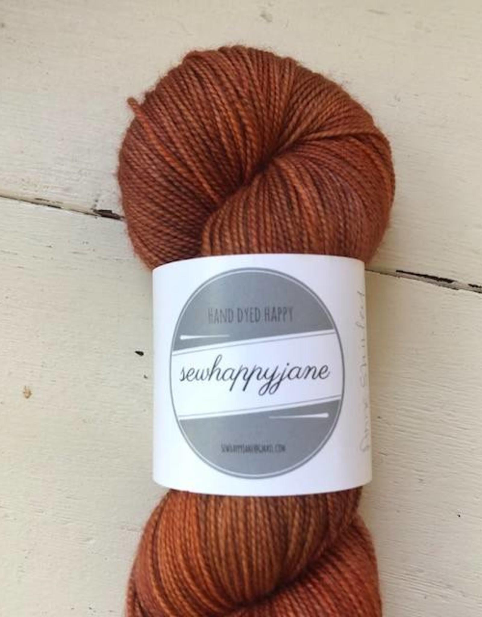 Sew Happy Jane Bouncy Fingering Anne Shirley Auburn