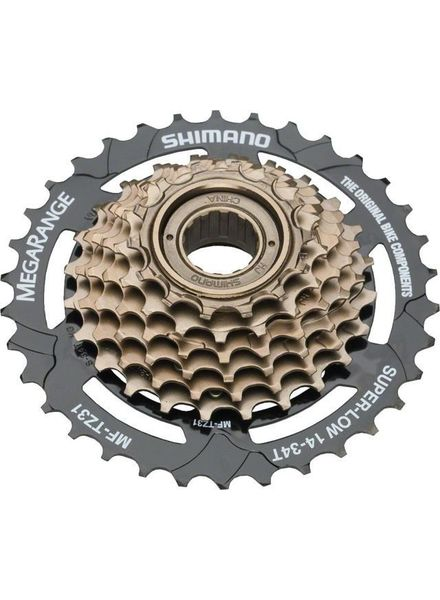 Shimano MULTIPLE FREEWHEEL SPROCKET, MF-TZ31 TOURNEY, 7-SPEED 14-16