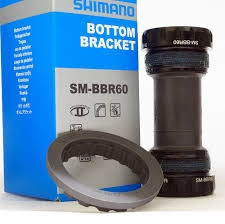 Shimano BOTTOM BRACKET PARTS, BSA SM-BBR60,ULTEGRA RIGHT & LEFT
