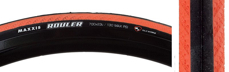 Maxxis TIRES MAX ROULER 700x23 ORG FOLD