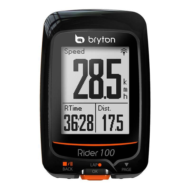 BRYTON COMPUTER BRYTON RIDER 100E GPS ANT+/BLUETOOTH BK