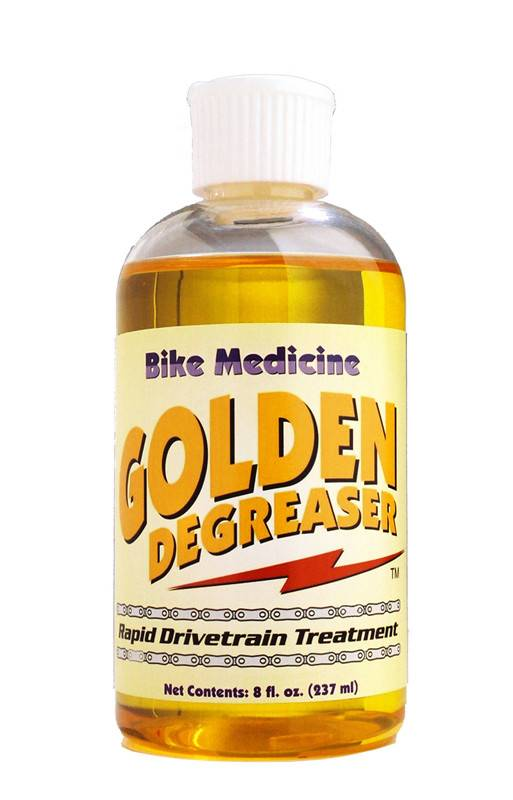 BIKE MEDICINE CLEANER BIKE MED GOLD DEGREASER 8oz NO O
