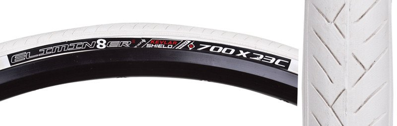 ORIGIN8 TIRES OR8 ELIM 700x23 FOLD BELT 11 WH/WH