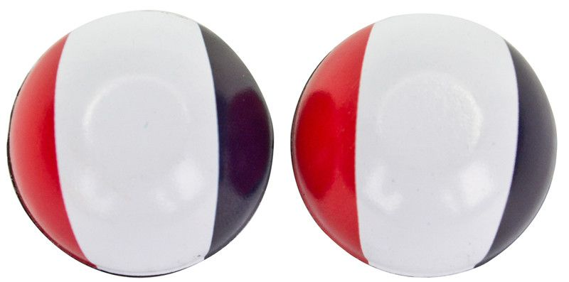 TRIKTOPZ VALVE CAPS TRIKTOPZ FLAG FRANCE 1pr/PK