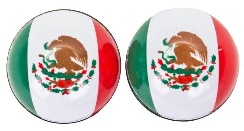 TRIKTOPZ VALVE CAPS TRIKTOPZ FLAG MEXICO 1pr/PK