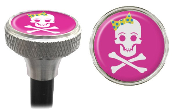 CLEAN MOTION VALVE CAPS CLEAN MOTION GIRLY SKULL