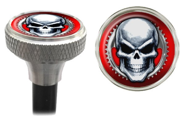 CLEAN MOTION VALVE CAPS CLEAN MOTION MEAN SKULL