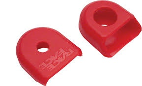 RaceFace Race Face Large Crank Boots, 2-Pack Red